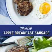 Even if you're not doing a Whole30, this Whole30 Sausage is a breakfast WIN! It's full of flavor and protein and it's super easy to make thanks to a couple shortcuts. You'll be so happy to know exactly what's going into your breakfast sausage! Get the paleo sausage recipe on RachelCooks.com!