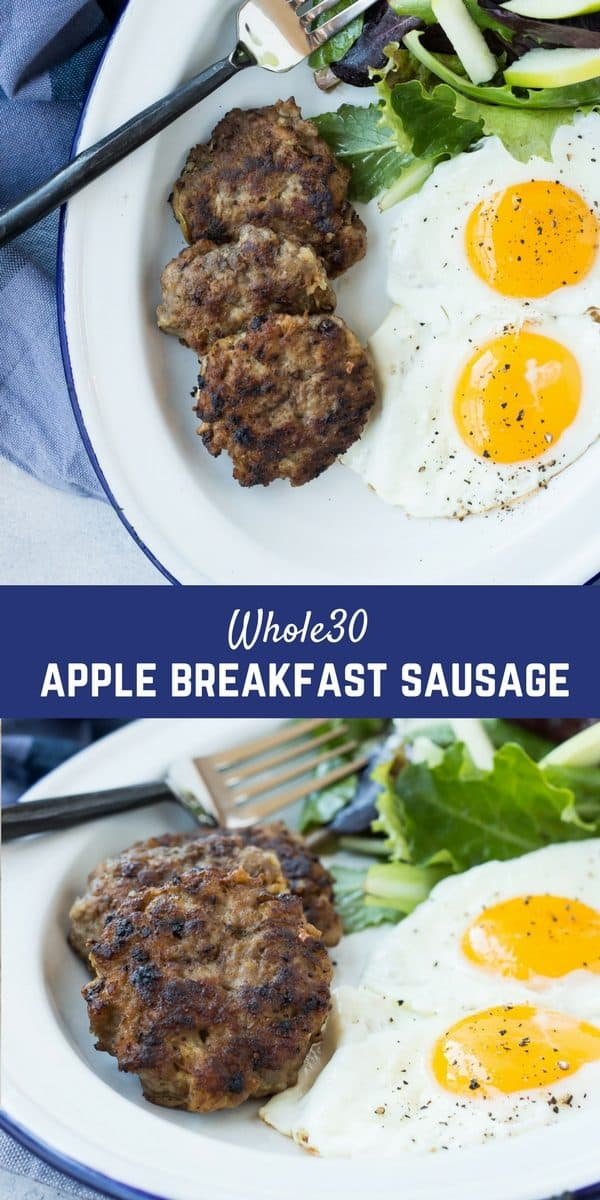 Even if you're not doing a Whole30, this Whole30 Sausage is a breakfast WIN! It's full of flavor and protein and it's super easy to make thanks to a couple shortcuts. You'll be so happy to know exactly what's going into your breakfast sausage!Get the paleo sausage recipe on RachelCooks.com!
