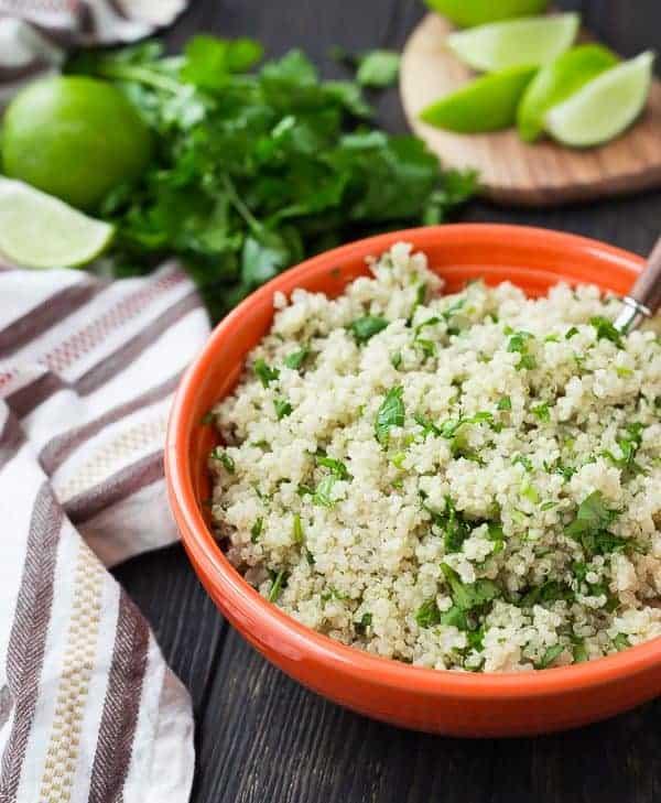 cilantro lime instant pot quinoa