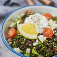 Broccoli Tabbouleh with Lentils