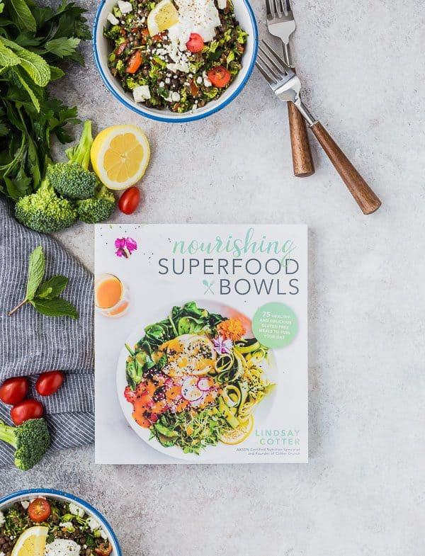 Nourishing Superfood Bowls by Lindsay Cotter Cover Image