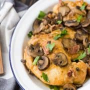 Instant Pot Chicken Marsala has all the flavors of marsala that you know and love, but with the convenience of cooking in the Instant Pot. You'll adore how quickly it comes together and you'll find yourself coming back to this recipe time and time again. It's great served with pasta or rice!