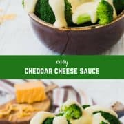 An easy cheese sauce recipe is a must-have in your cooking tool box! Perfect for nachos, baked potatoes, pouring over vegetables, or as a macaroni and cheese base, you're going to love this versatile recipe!