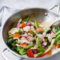 Sweet Chili Chicken Stir Fry - Easy Recipe