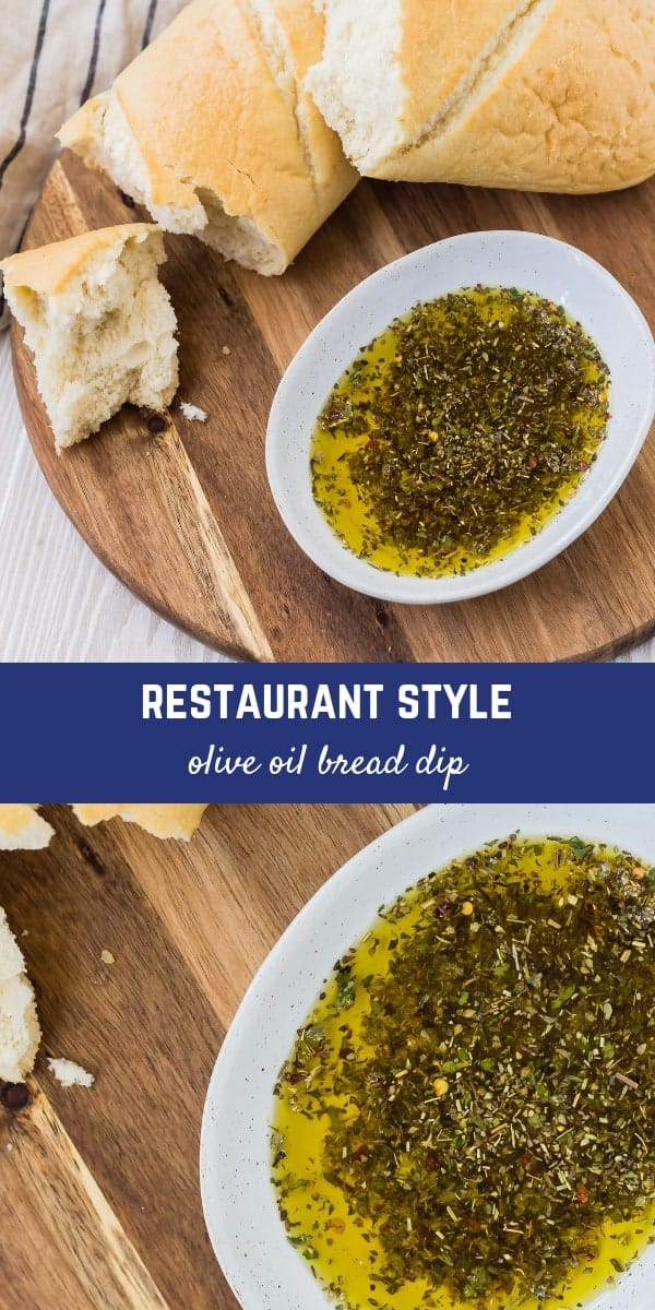 This is the most irresistible restaurant-style bread dipping oil recipe! You'll feel like you're at a fancy Italian restaurant and you won't be able to stop dipping!