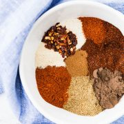 This chili seasoning recipe is a perfect blend to have in your cupboard for when you want to make a quick pot of chili. There are a couple surprises that set this spice mix apart!