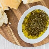 Bread Dipping Oil Recipe | Restaurant-Style