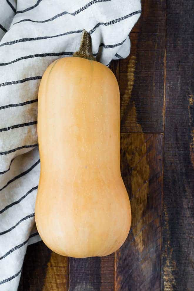 Image of whole butternut squash.