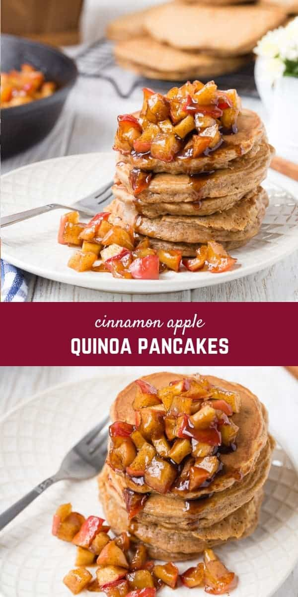 These apple quinoa pancakes are a healthy and delicious way to start your day. Full of protein and flavor, they will quickly become a favorite.