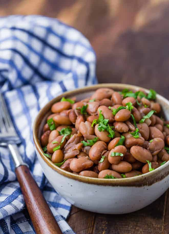 Instant Pot Pinto Beans No Soaking Needed Rachel Cooks