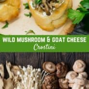 Bursting with earthy flavor, wild mushroom crostini are a delightful appetizer your guests will clamor for. You'll love how easy they are to prepare!