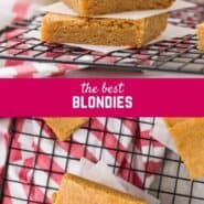 Simple to make, this scrumptious blondie recipe is sure to be a favorite. Gooey blondies melt in your mouth with buttery caramel flavor. Try them today!