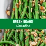 A classic French recipe, green bean almondine elevates ordinary green beans into a memorable side dish with the addition of toasted almonds, browned butter, shallots, and lemon zest.