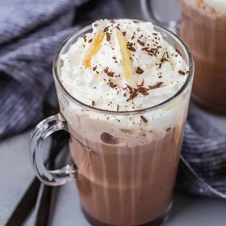 Ginger Spiced Hot Chocolate Easy Microwave Recipe Rachel Cooks