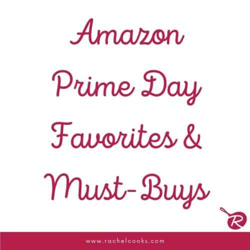 """simple image reads """"amazon prime day favorites and must-buys"""""""