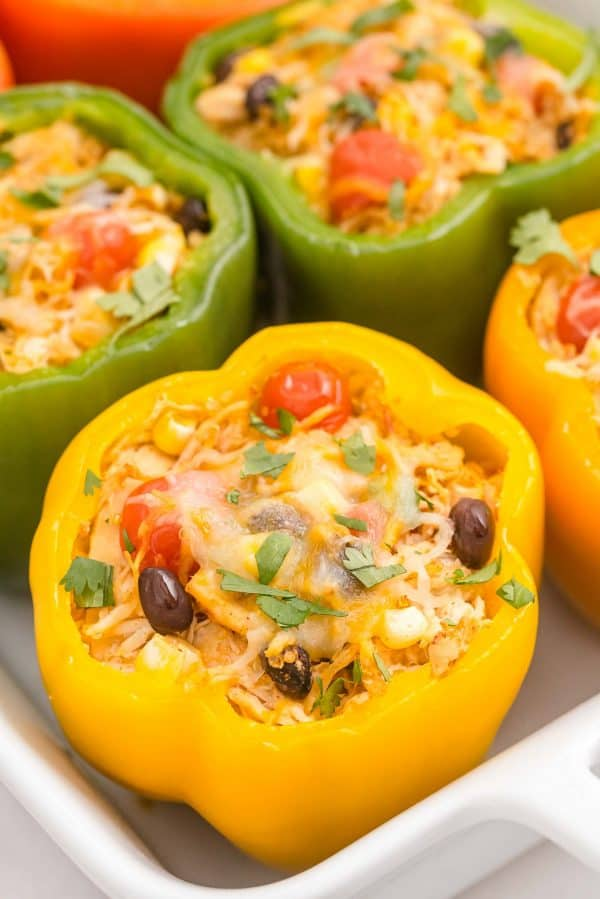A filled pepper, baked.