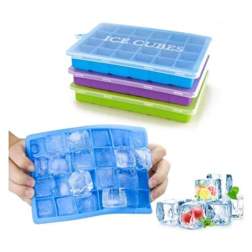 Silicone ice cube tray product image